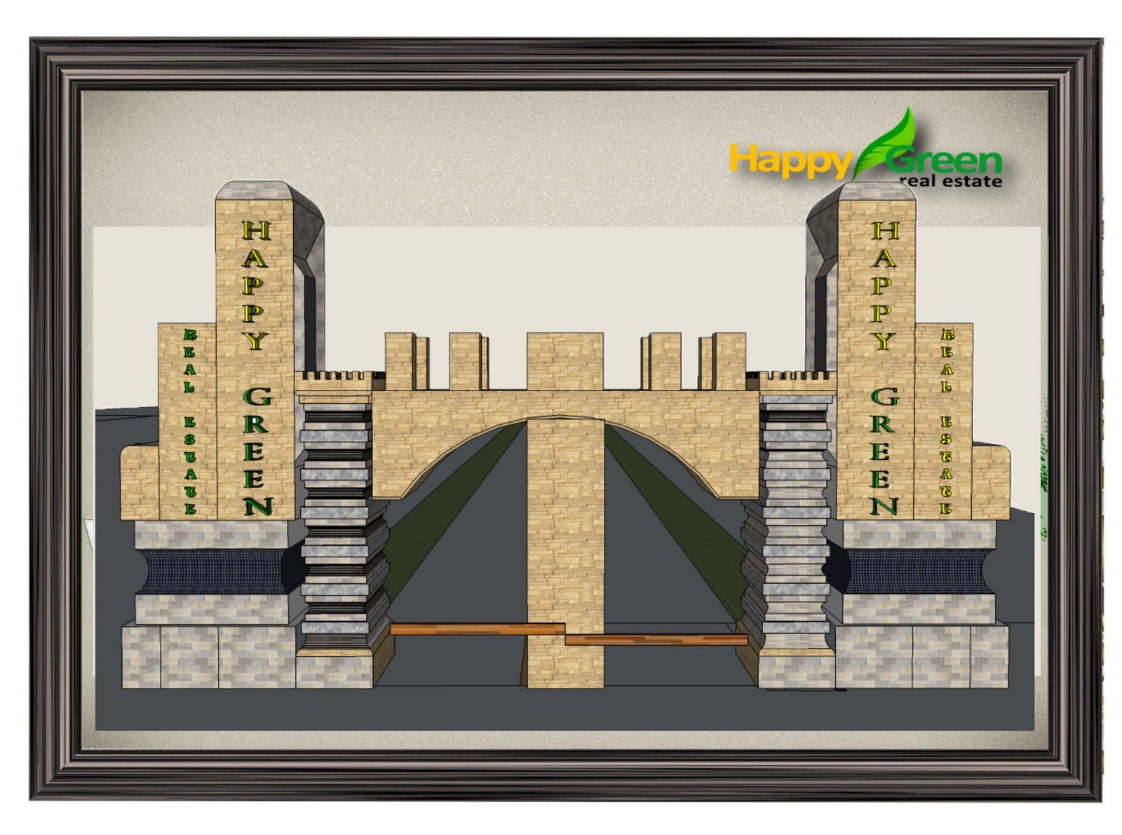 Desain Pintu Gerbang