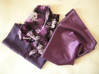 szycie - materiały na spódnice