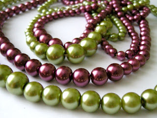 biżuteria z półfabrykatów - perły wersja 2