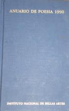 Anuario de Poesía INBA
