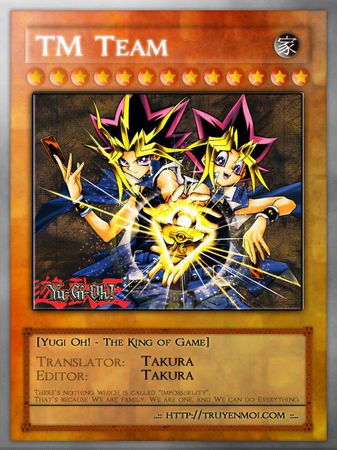 YuGi Oh – Vua Trò Chơi chap 1 Trang 1