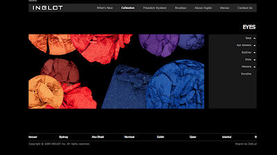 Inglot has a website!