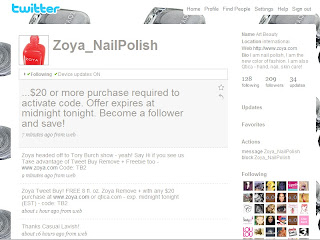 Newsflash for nail polish obsessed Twitter users!