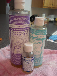 Natural Beauty: Why Castile Soap rocks my socks....