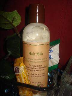 Beauty Review: Carol's Daughter Hair Milk and Tui Hair Smoothie