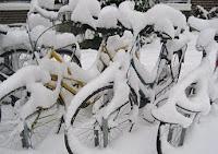 Behavazott biciklik Hollandiában