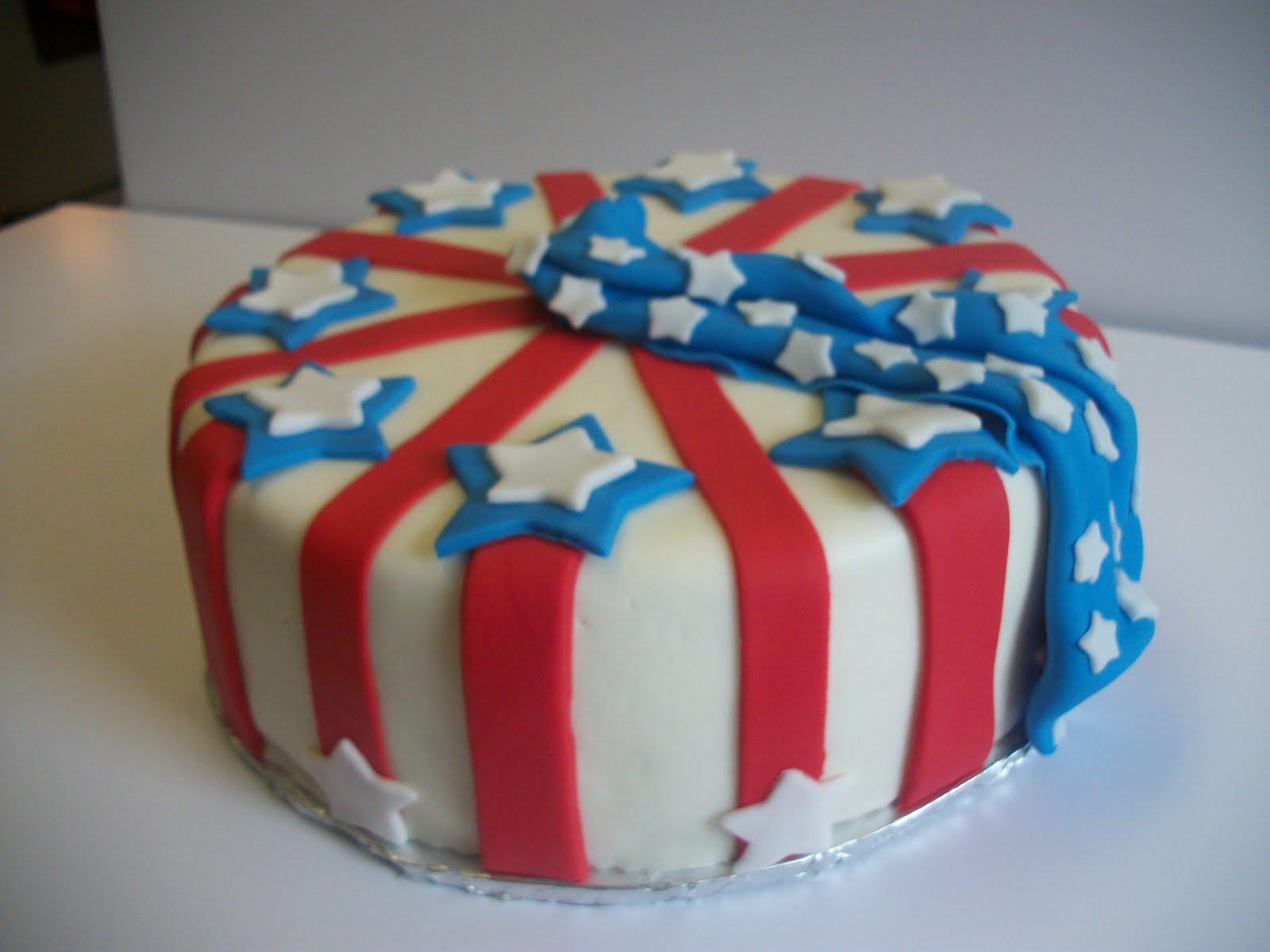 Cake Decoration Day : Tasty Cakes: Memorial Day Cake