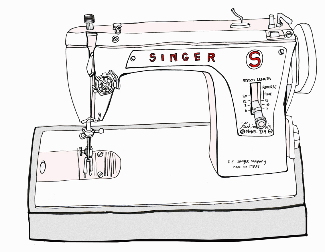 Old Singer Sewing Machine Drawings http://rebekahleighmarshall.blogspot.com/2010/08/things-i-love-day-7.html