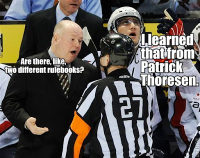 NHL refs are consistently inconsistent