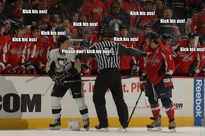 Crosby Ovechkin fight