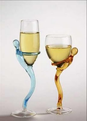 Creative unique and unusual design glassware for Cool wine glass designs