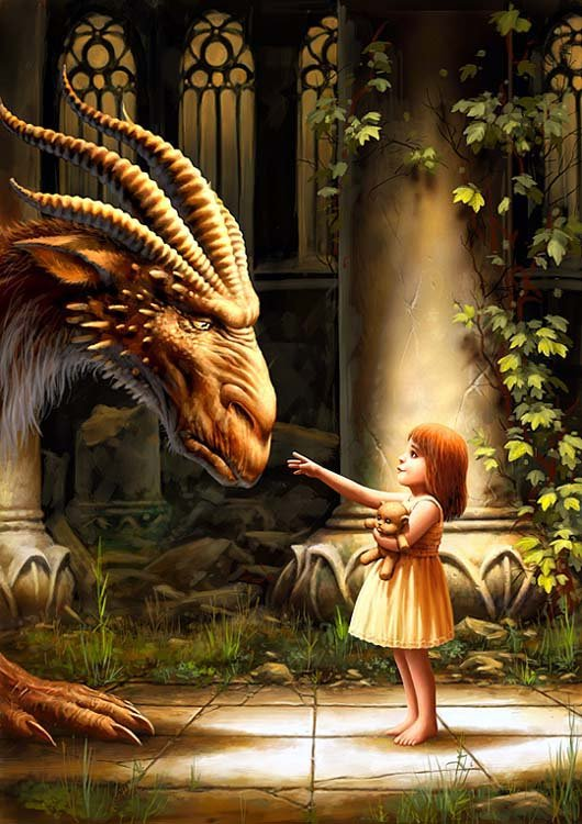 girls with dragons images