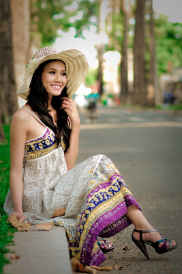 Duong My Linh Vietnamese idol pictures