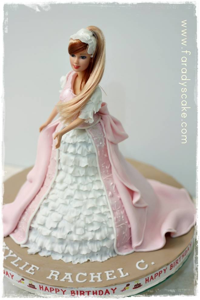 Wilton Doll Cake Tutorial
