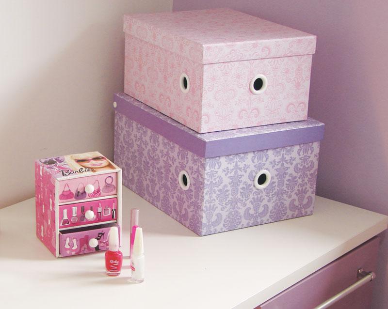 Blox! Quarto infantil em tons de lavanda, lilás e rosa ~ Quarto Rosa E Lilas