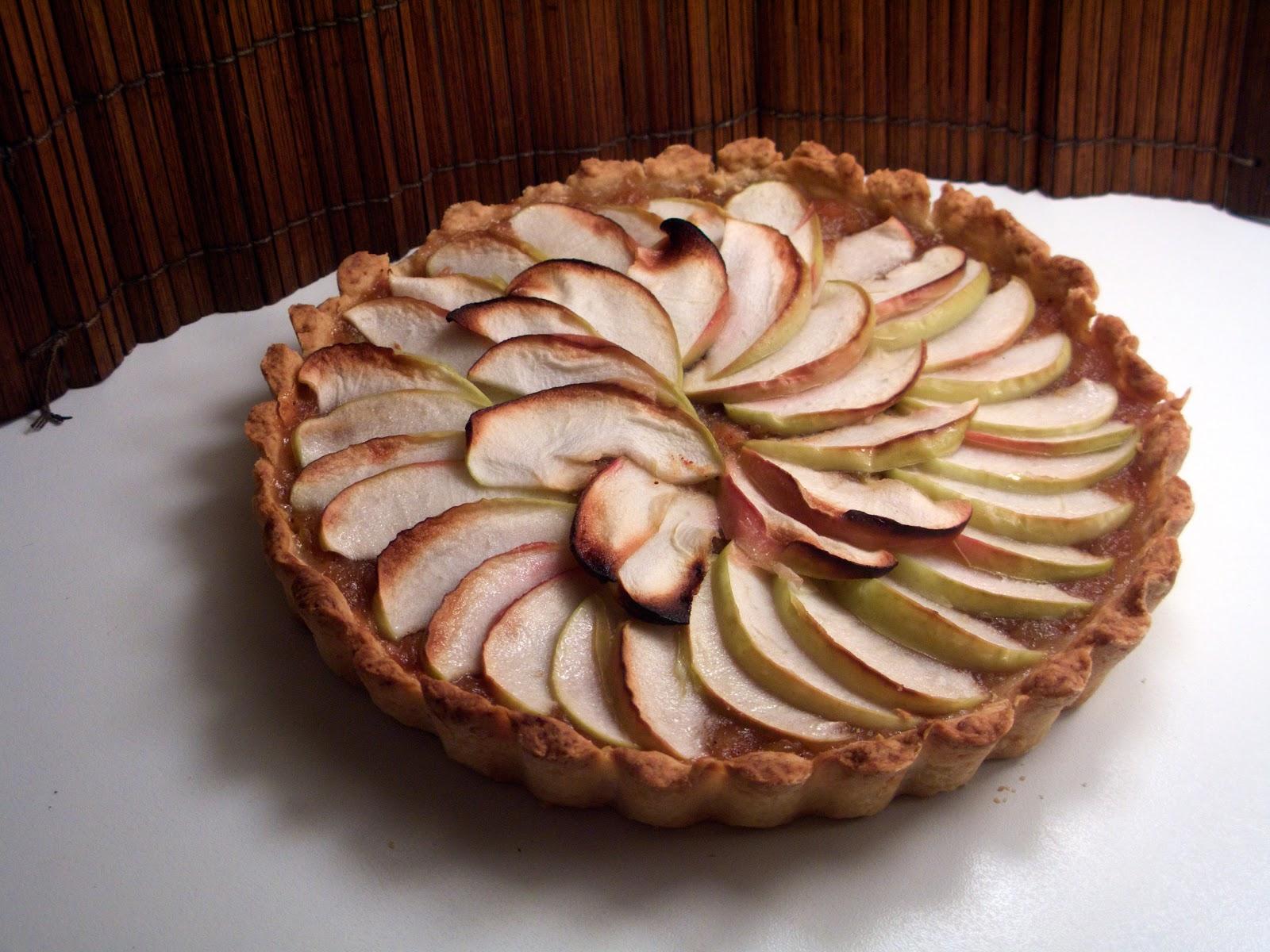 äppelkaka med calvados