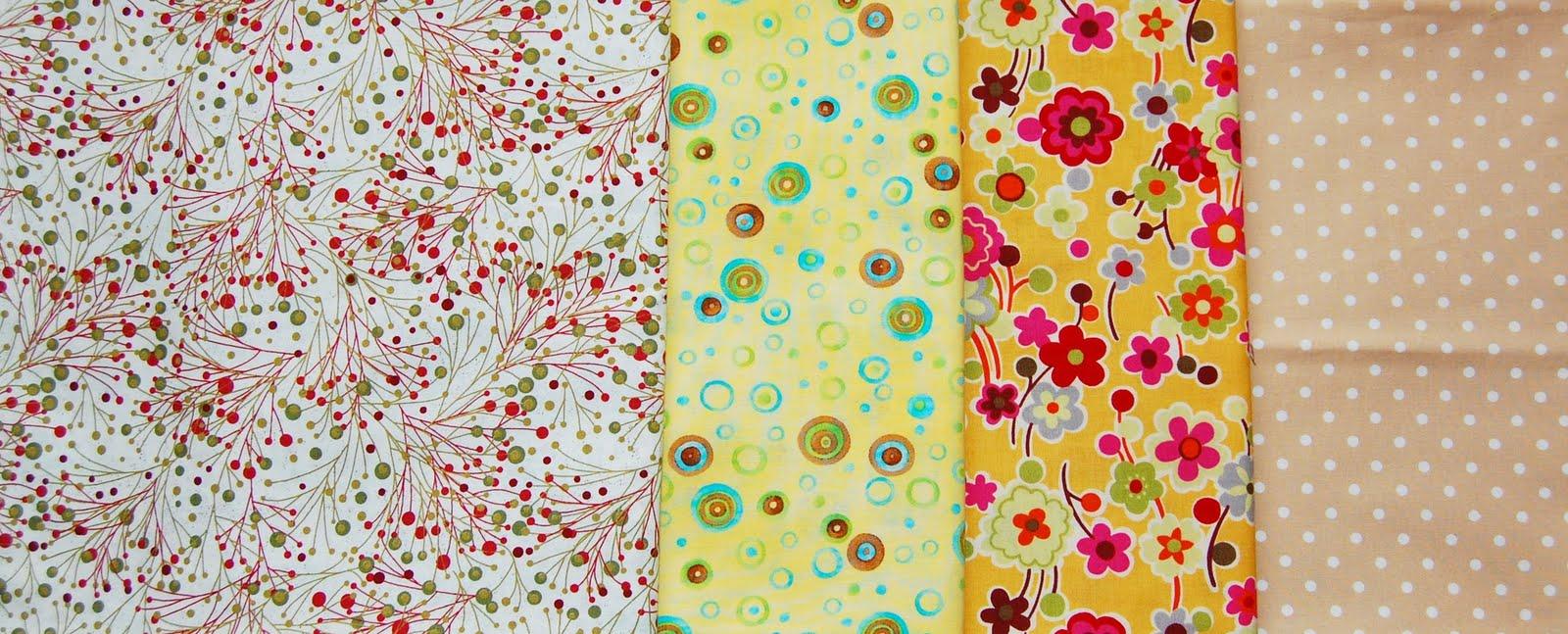 Mybotang fabric scrap series cards - Fabric From Left Moda Clothworks Moda Cotton