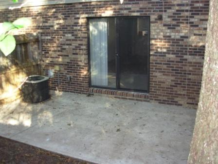 Jacksonville Condo Townhouses patio