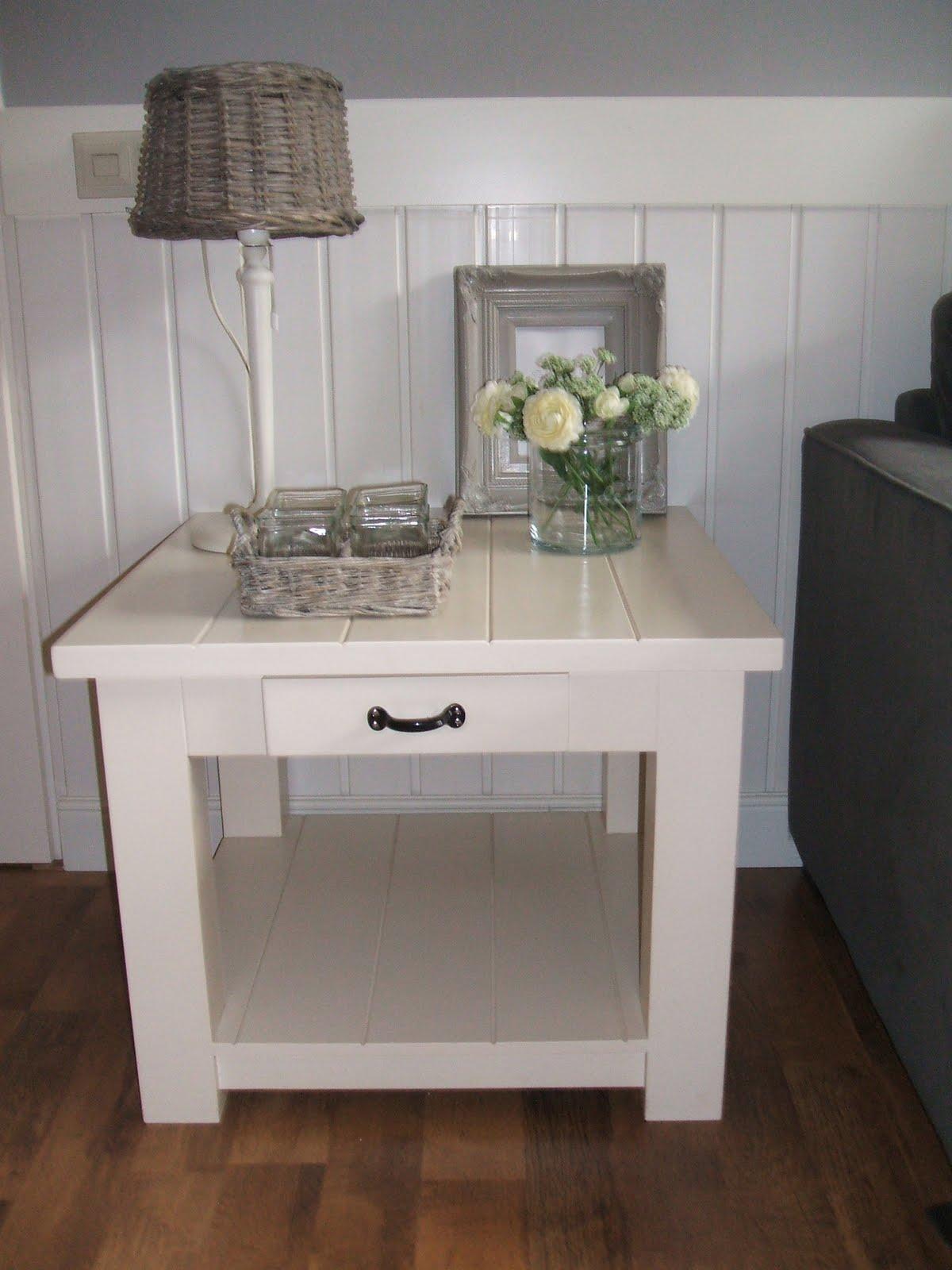 Home made home landelijk salon tafel - Foto decoratie ...