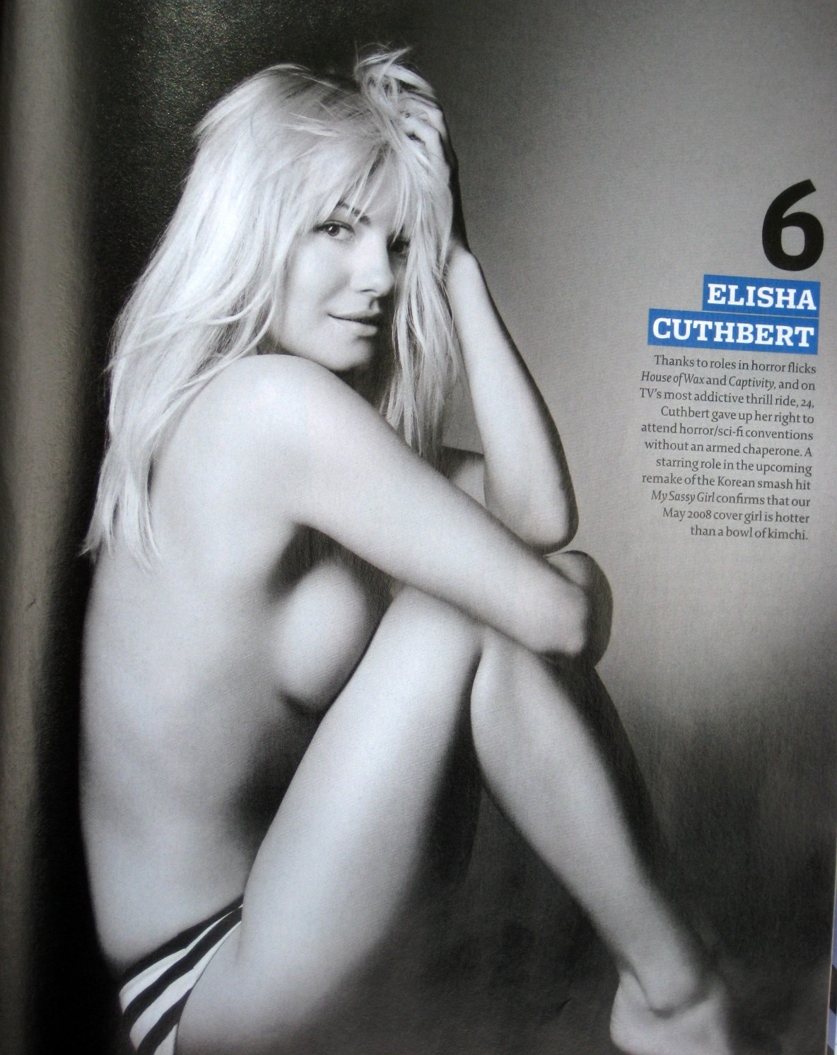 Elisha Cuthbert Nacktfotos Maxime
