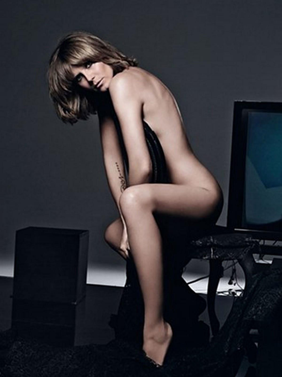 Heidi Klum Naked Ass 61