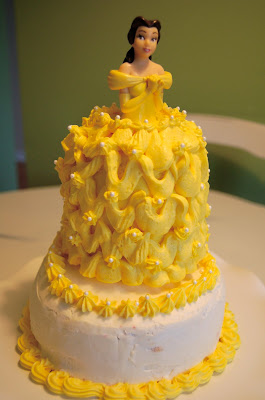 Chef Mommy Belle minidoll cake and lemon cake with raspberry filling