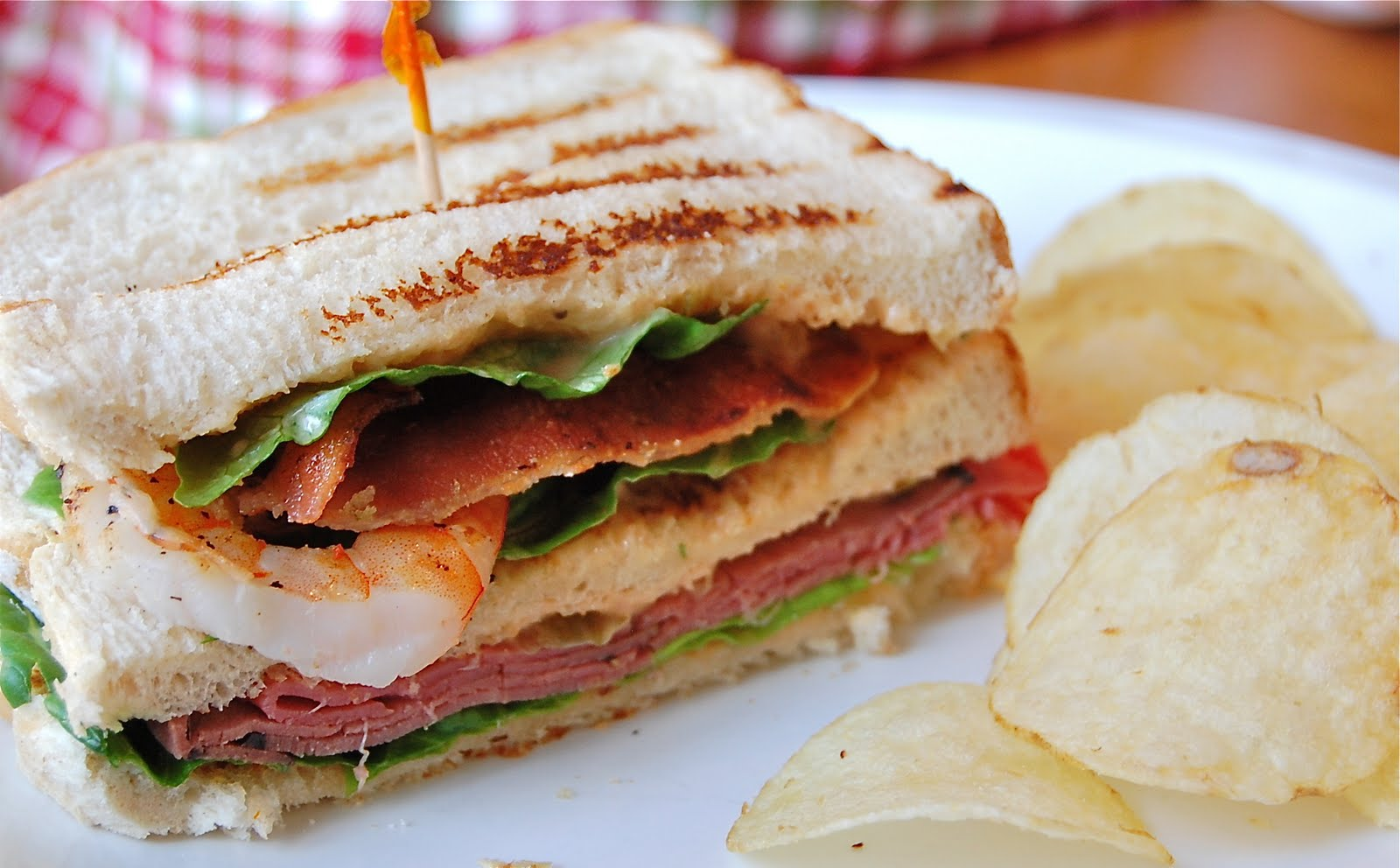 Turf N Surf >> Chef Mommy: Surf n' Turf Sandwich