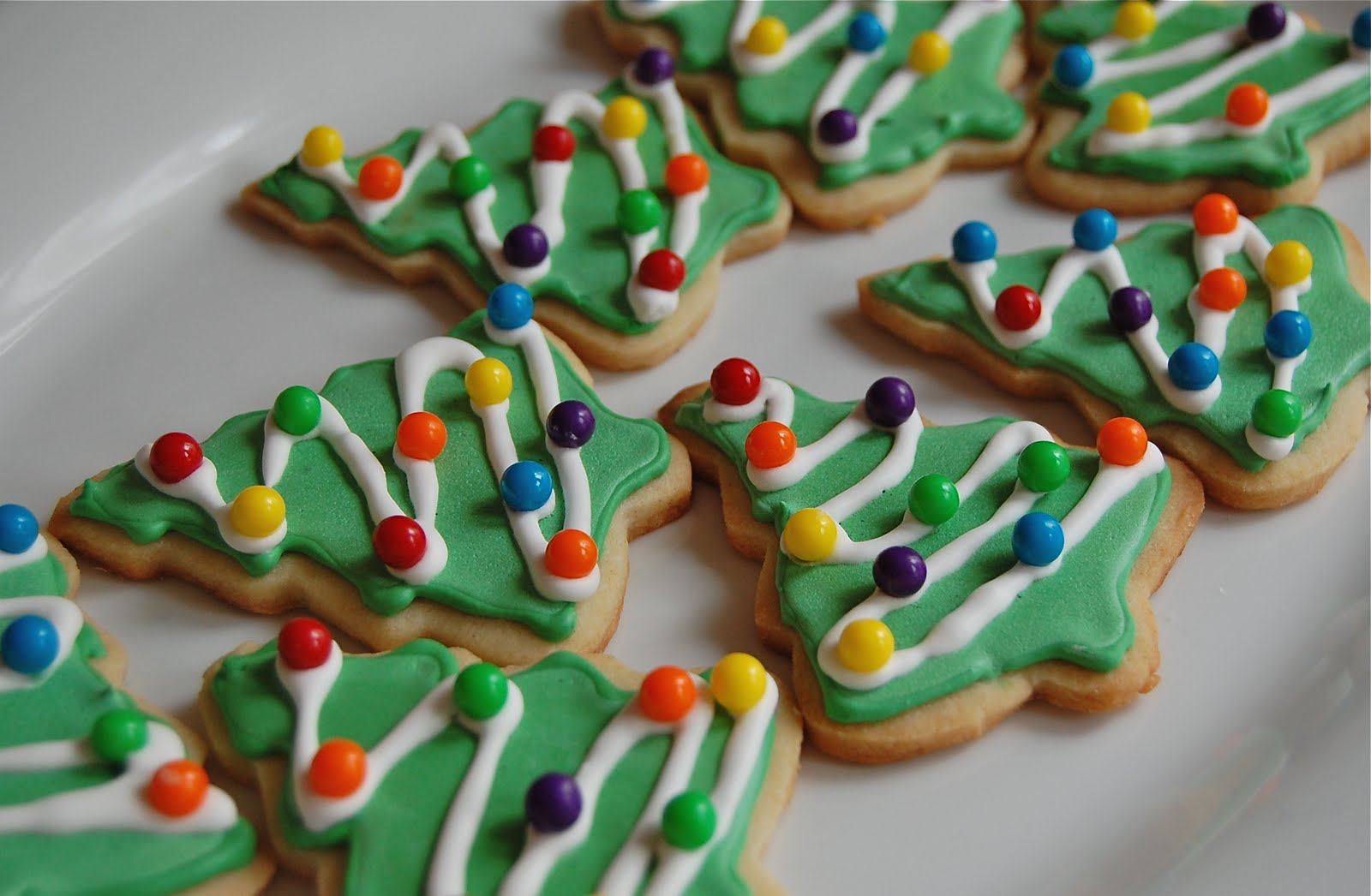 Chef Mommy: Christmas Tree Sugar Cookies