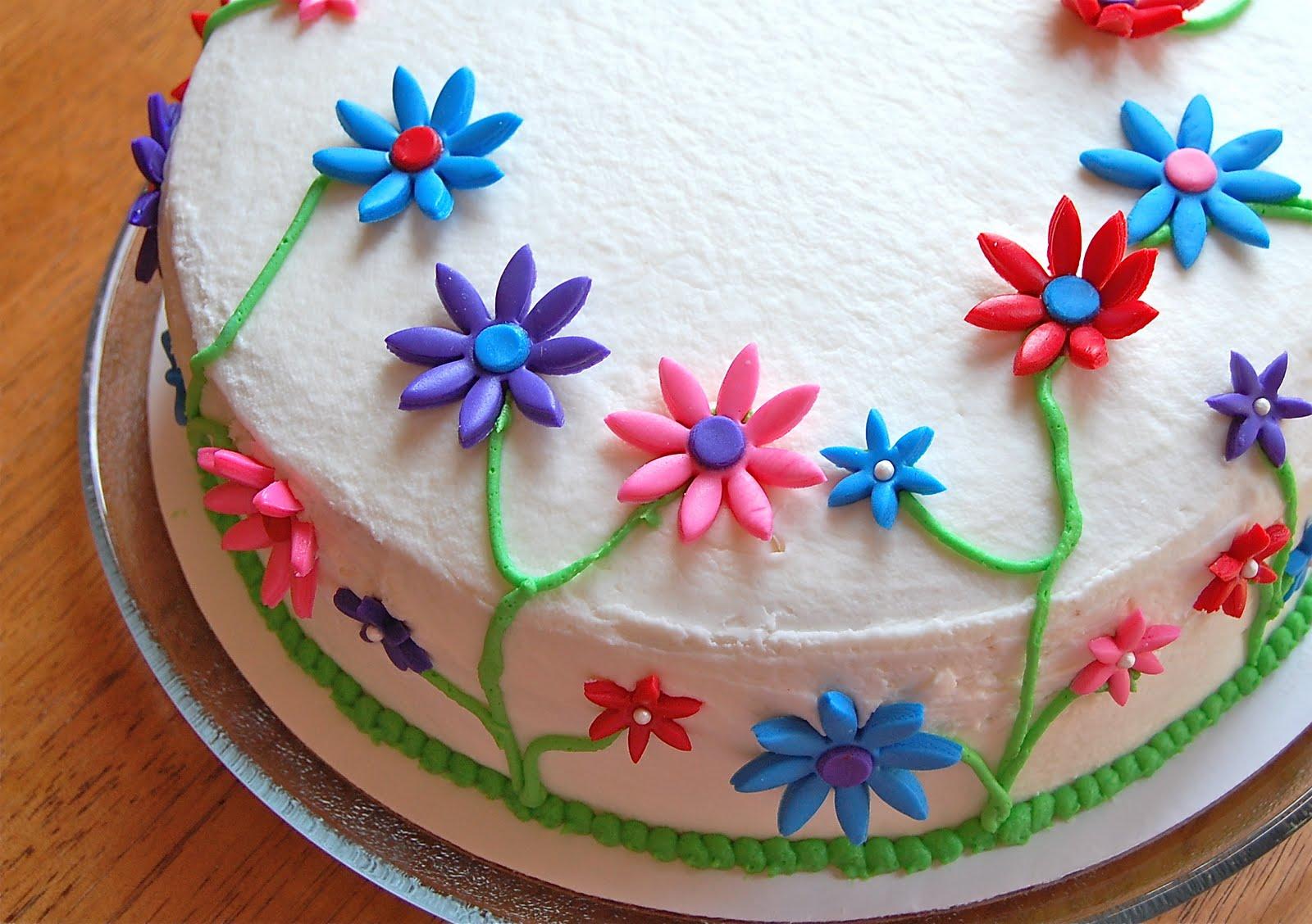 Chef Mommy Flower Cake