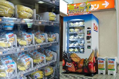 distributore automatico di banane