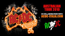 AUSTRALIAN TOUR 2010 WITH AC/DC ITALIA