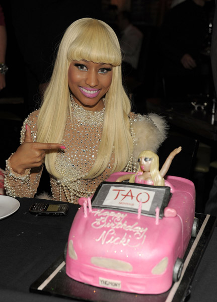 nicki minaj barbie doll. Barbie Doll celebrated her
