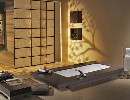Decorations millenium interior design japanese interior design - Interior bathroom design ...