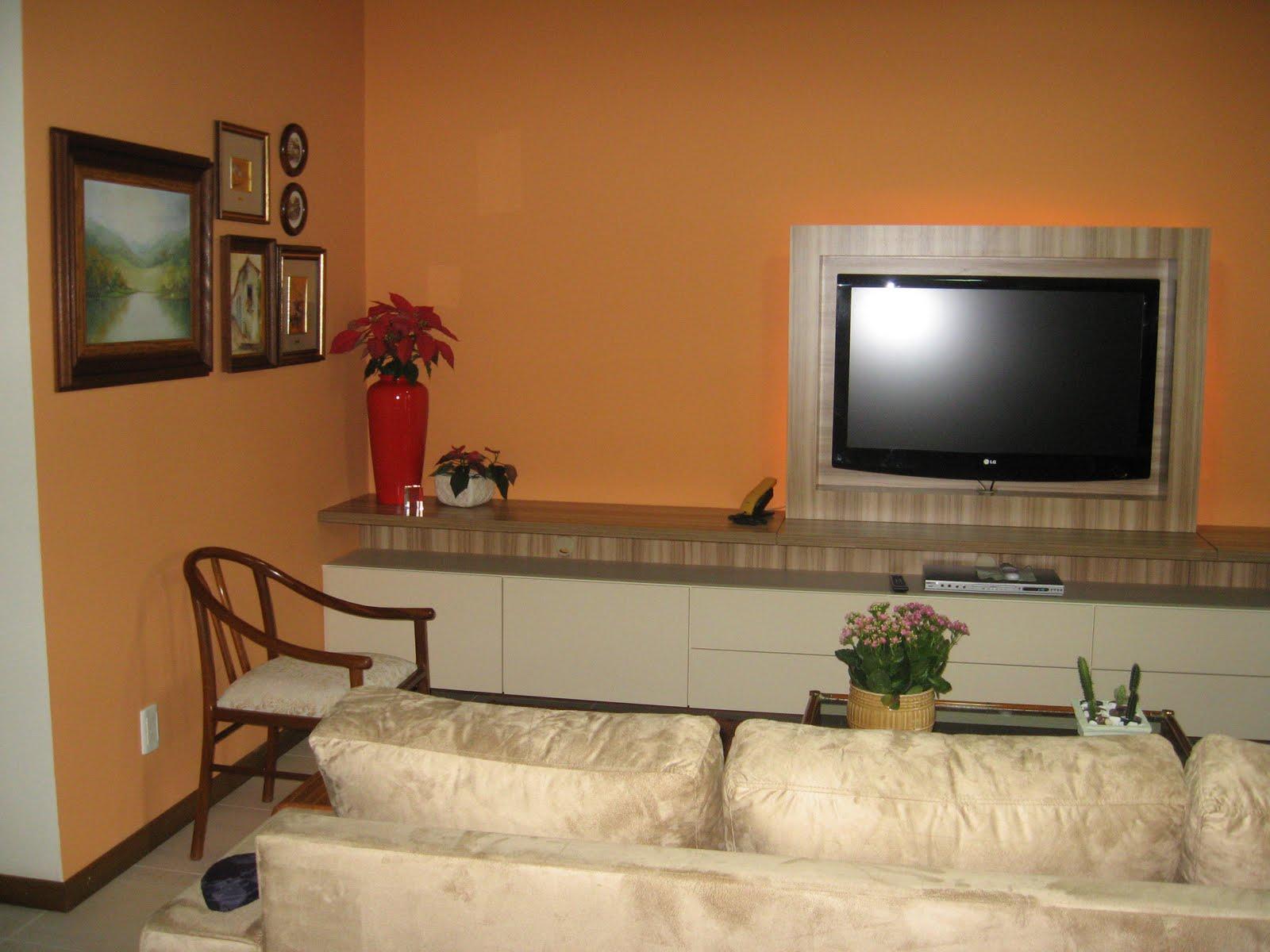 #9C602F CASA E CORES: UMA SALA DE ESTAR  1600x1200 píxeis em Cores Para Sala De Estar Fotos