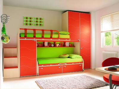 Dormitorios infantiles recamaras para bebes y ni os for Camas infantiles dobles