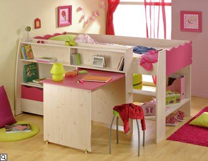 Dormitorios infantiles recamaras para bebes y ni os dormitorio chloe para ni as - Dosel para cama nina ...