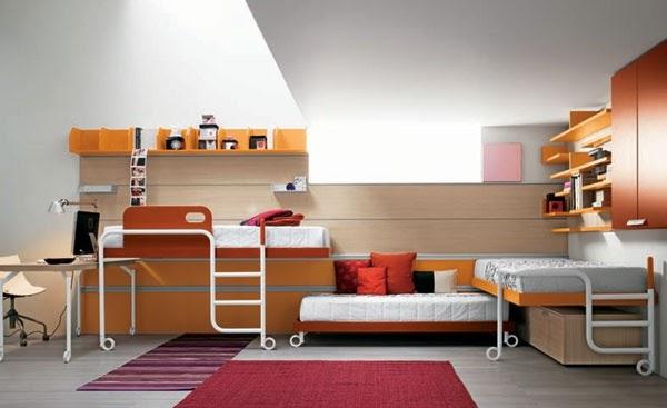Dormitorios infantiles dise o de dormitorio peque o para - Diseno de dormitorios pequenos ...