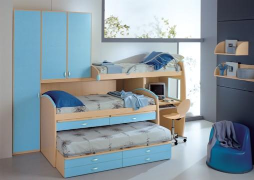 Dormitorios infantiles recamaras para bebes y ni os for Small bedroom ideas kids