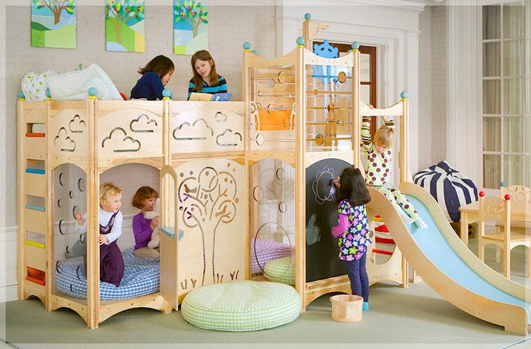 Dormitorios infantiles: DORMITORIO CON CAMAS PARA JUGAR