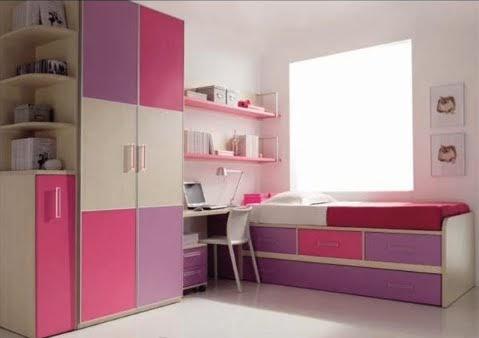 Dormitorios minimalistas para dos ni as decoraci n de for Dormitorios minimalistas pequenos