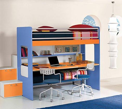 Dormitorios infantiles recamaras para bebes y ni os - Dormitorios pequenos para ninos ...