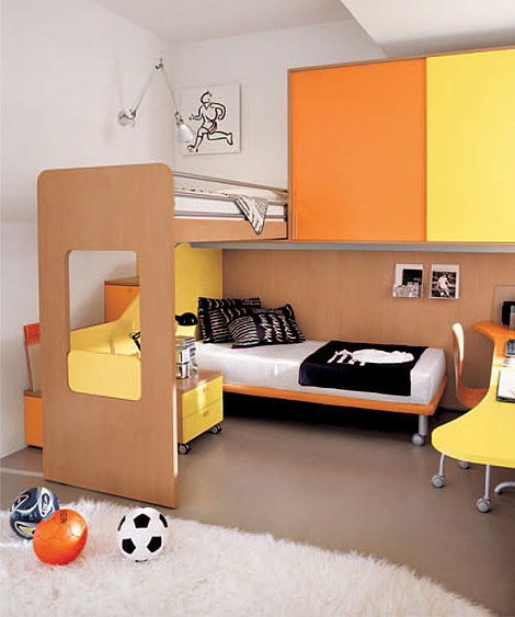 Dormitorios infantiles recamaras para bebes y ni os - Habitacion para 2 ninos ...