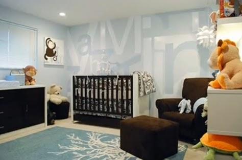 ideas para decorar cuartos de bebes: