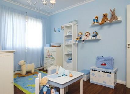 Dormitorios infantiles recamaras para bebes y ni os dormitorio celeste para ni as celeste para - Dormitorios para nino ...