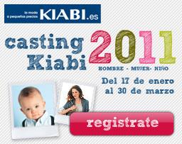 CASTING KIABI ENERO A MARZO 2011 PARA BEBE NIÑO Y ADULTO