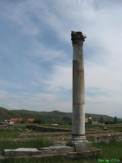 Ulpia Traiana Augusta Dacica Sarmizegetusa - the big temple