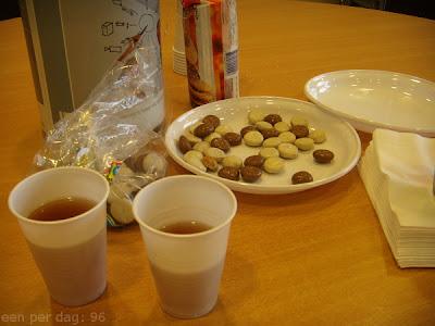 kruidnoten met chocolade
