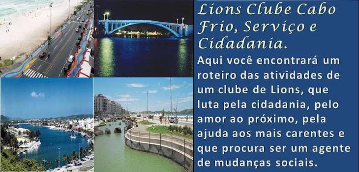 Lions Clube Cabo Frio, Serviço e Cidadania