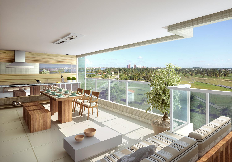 terraços traduzem o sonho de viver bem início da década de 1990 as  #463323 1500 1049
