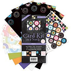 Party Card Kit in a Stack